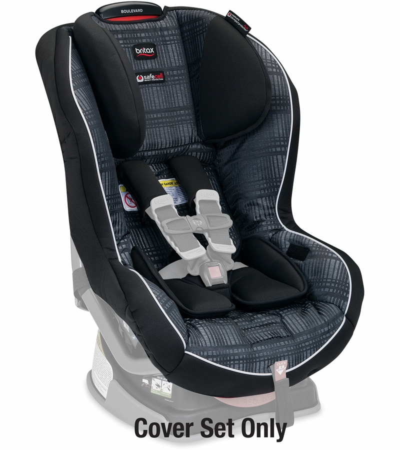 britax boulevard convertible car seat cover set domino. Black Bedroom Furniture Sets. Home Design Ideas