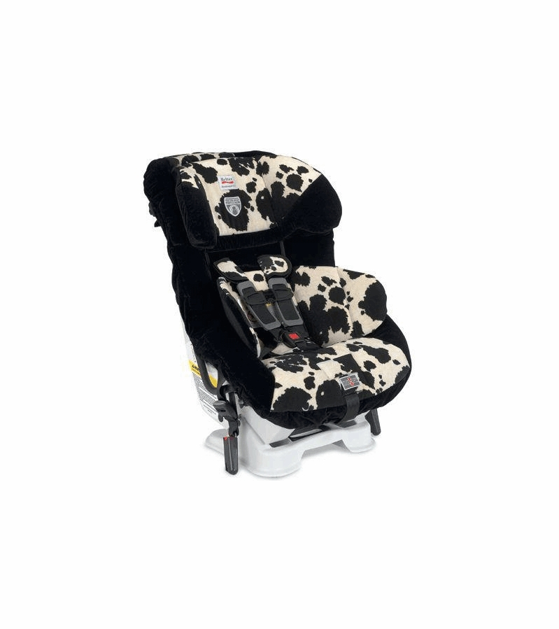 britax boulevard cs convertible car seat in cowmooflage. Black Bedroom Furniture Sets. Home Design Ideas
