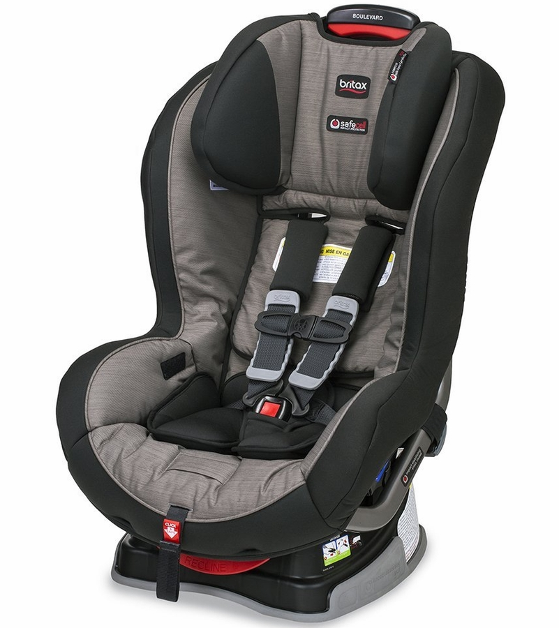 britax boulevard g4 1 convertible car seat slate strie. Black Bedroom Furniture Sets. Home Design Ideas