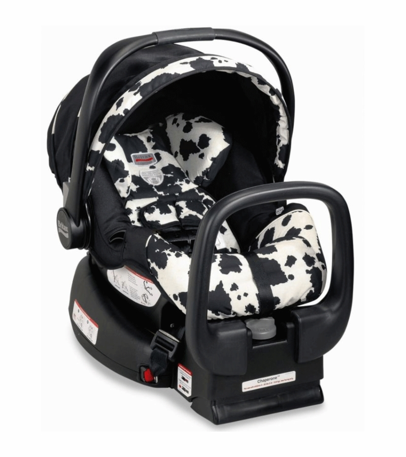 britax chaperone infant car seat 2009 cowmooflage. Black Bedroom Furniture Sets. Home Design Ideas