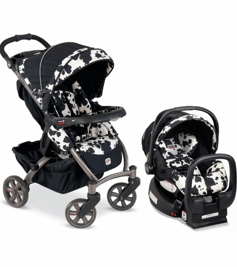 Britax Chaperone Travel System Cowmooflage Cow Print Bar Chairs Dining