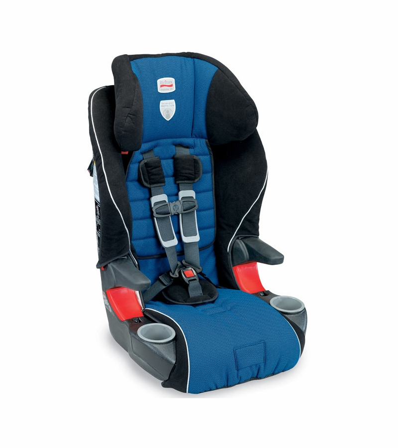 britax frontier 85 booster car seat in maui blue