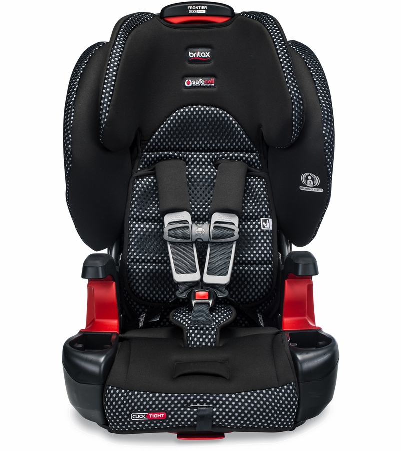 Britax Frontier ClickTight Booster Car Seat - Cool Flow Gray