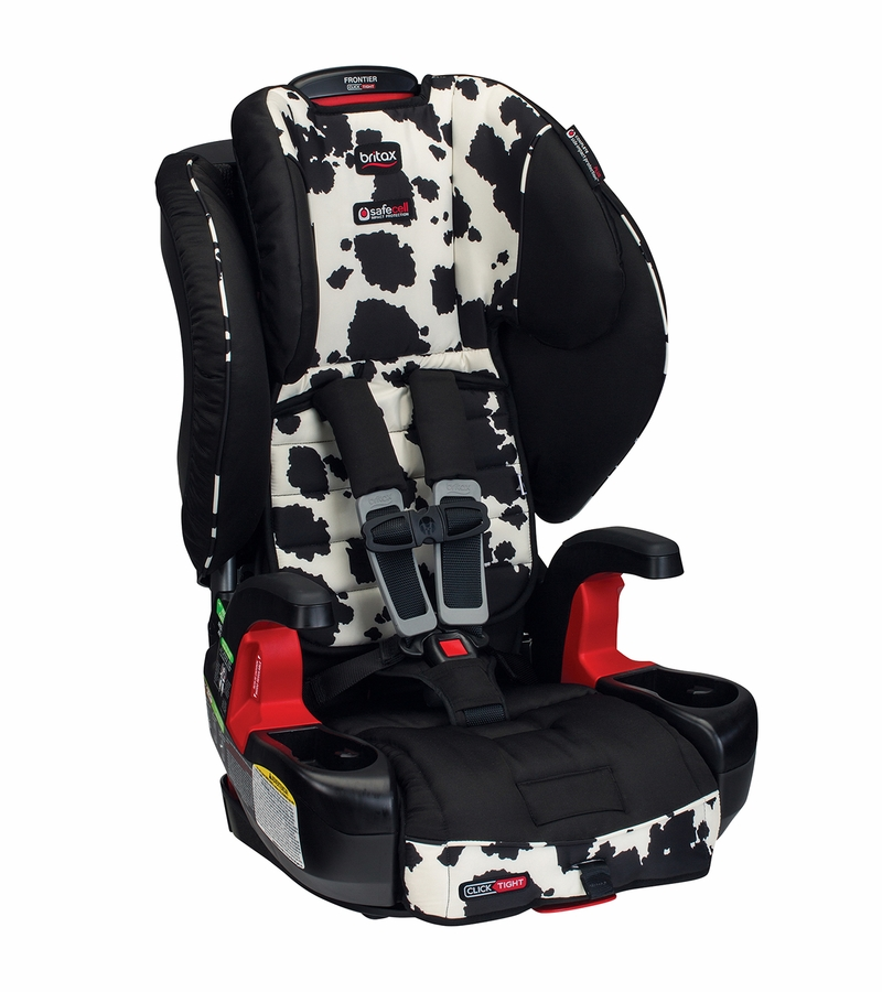 britax frontier clicktight booster car seat cowmooflage. Black Bedroom Furniture Sets. Home Design Ideas