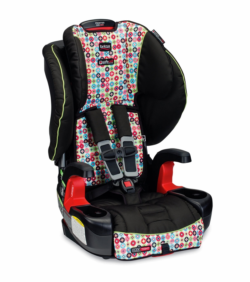 britax frontier clicktight booster car seat kaleidoscope. Black Bedroom Furniture Sets. Home Design Ideas