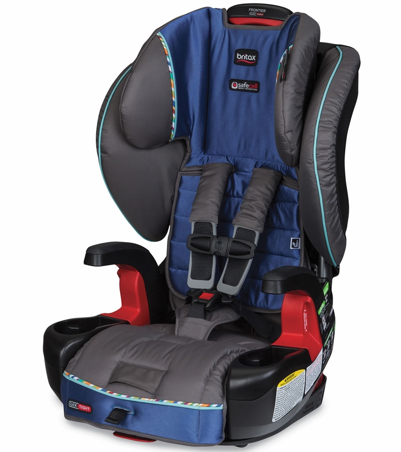 britax frontier clicktight booster car seat liberty sapphire. Black Bedroom Furniture Sets. Home Design Ideas