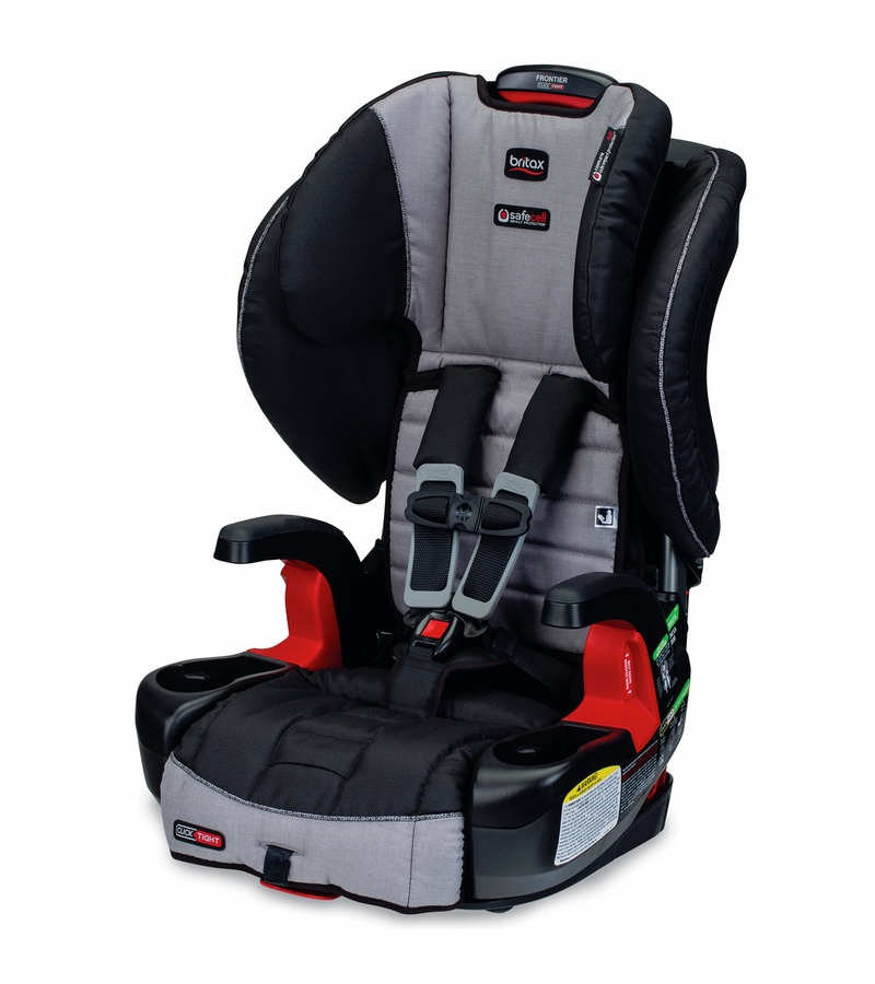 britax frontier clicktight booster car seat metro. Black Bedroom Furniture Sets. Home Design Ideas
