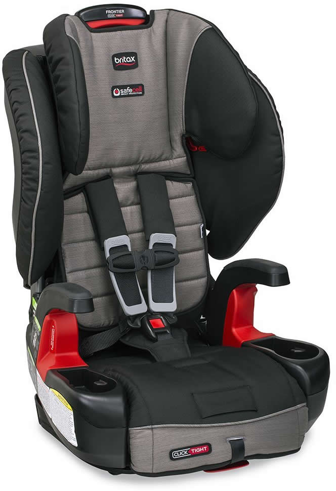 Britax Frontier ClickTight Booster Car Seat - Slate Strie