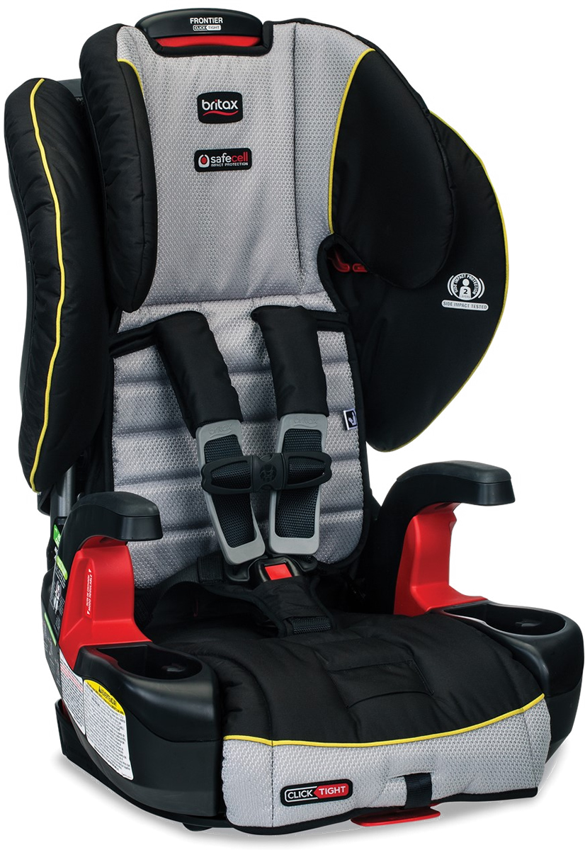 Britax Frontier ClickTight Harness Booster Car Seat - Trek