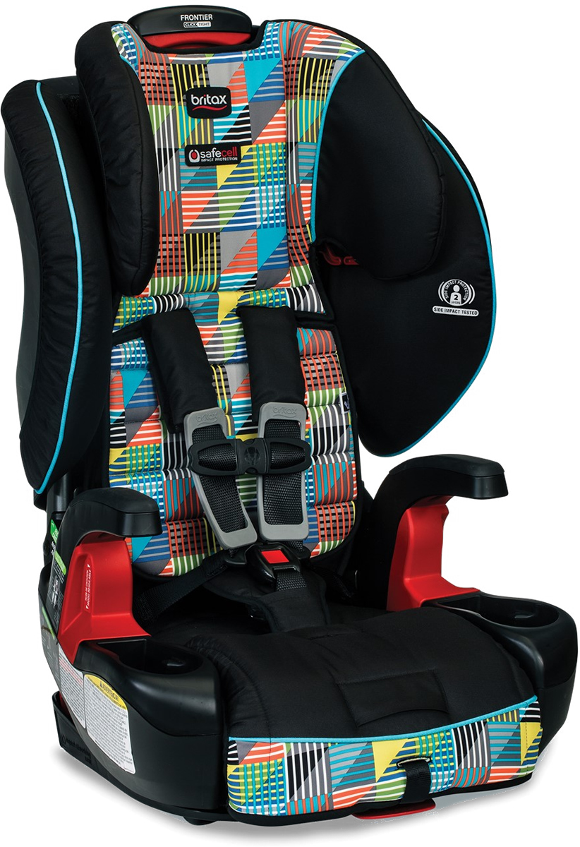 Britax Frontier ClickTight Harness Booster Car Seat - Vector