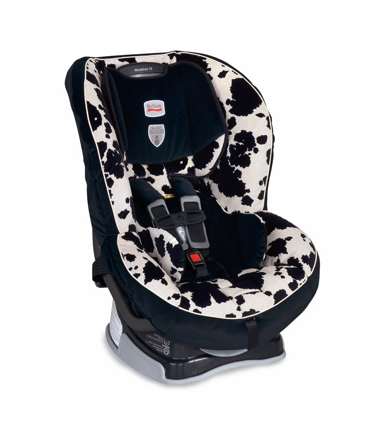 britax marathon 70 car seat in cowmooflage. Black Bedroom Furniture Sets. Home Design Ideas