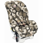 Britax Marathon Car Seat 2007 Couture in Eclipse Tan