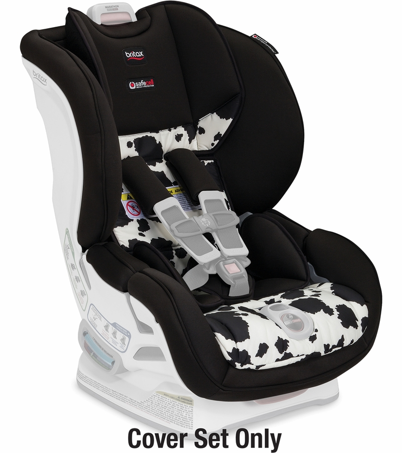 britax marathon clicktight convertible car seat cover set cowmooflage. Black Bedroom Furniture Sets. Home Design Ideas
