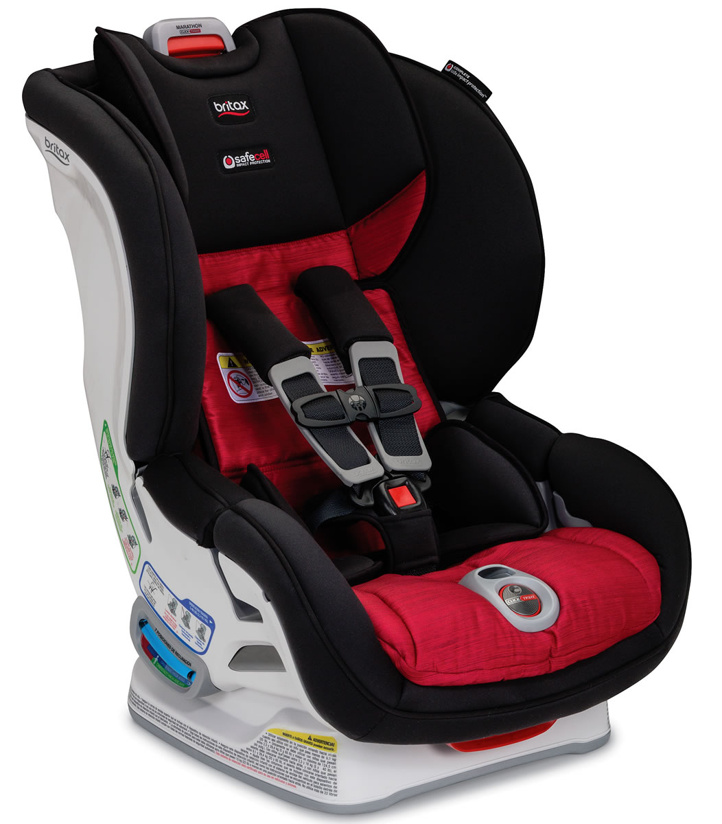 Britax Marathon ClickTight Convertible Car Seat - Rio, Red