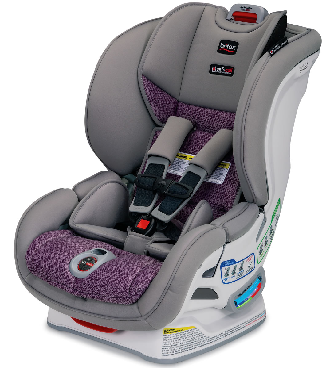 Britax Marathon ClickTight Convertible Car Seat - Twilight