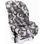 Britax Marathon Convertible Car Seat 2007 Couture Eclipse Grey