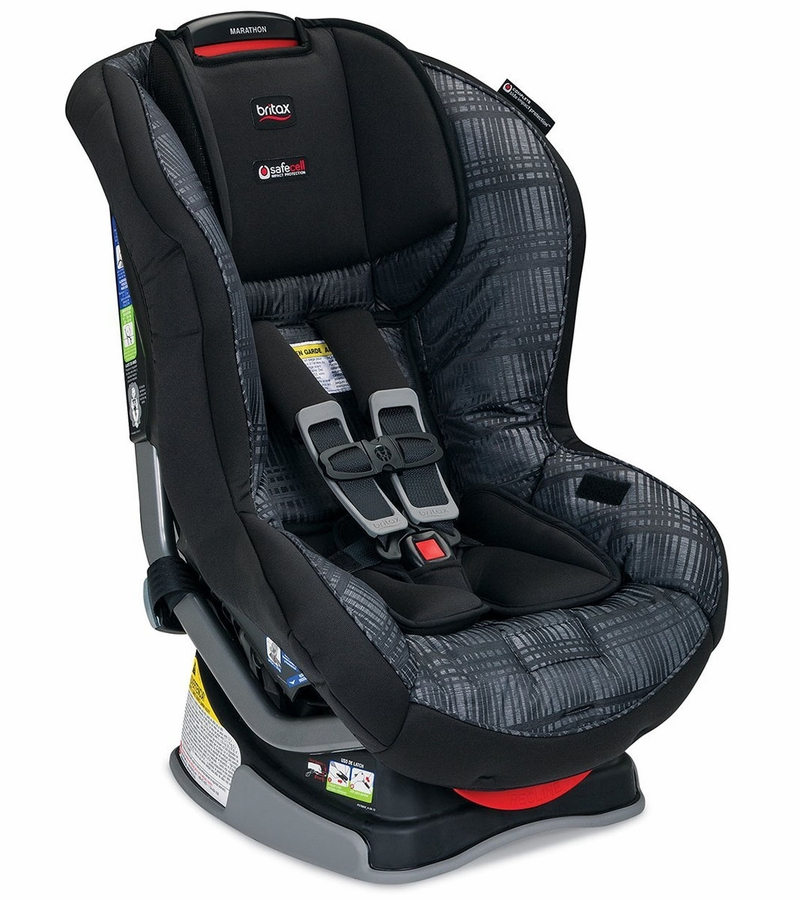 britax marathon g4 1 convertible car seat domino. Black Bedroom Furniture Sets. Home Design Ideas