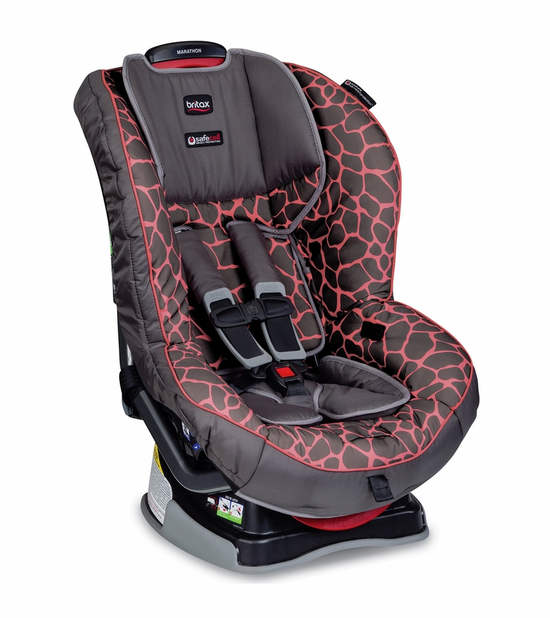 britax marathon g4 1 convertible car seat pink giraffe. Black Bedroom Furniture Sets. Home Design Ideas