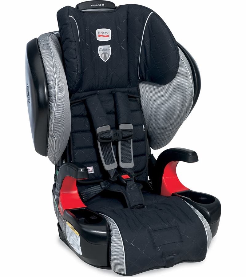 britax pinnacle 90 harness booster car seat manhattan. Black Bedroom Furniture Sets. Home Design Ideas