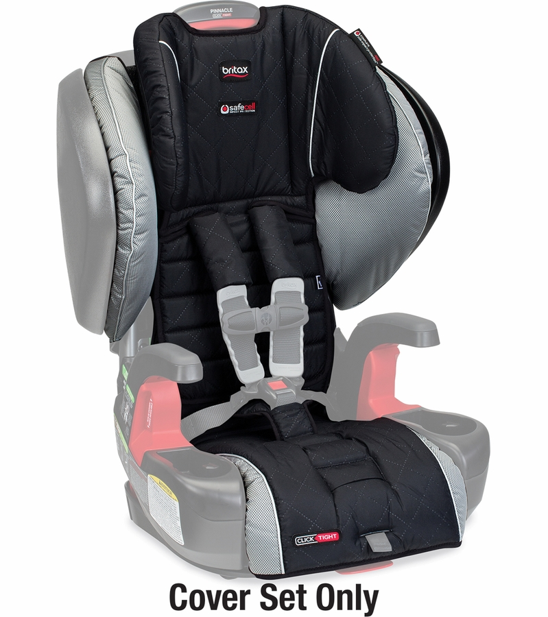 britax pinnacle booster car seat cover set manhattan. Black Bedroom Furniture Sets. Home Design Ideas