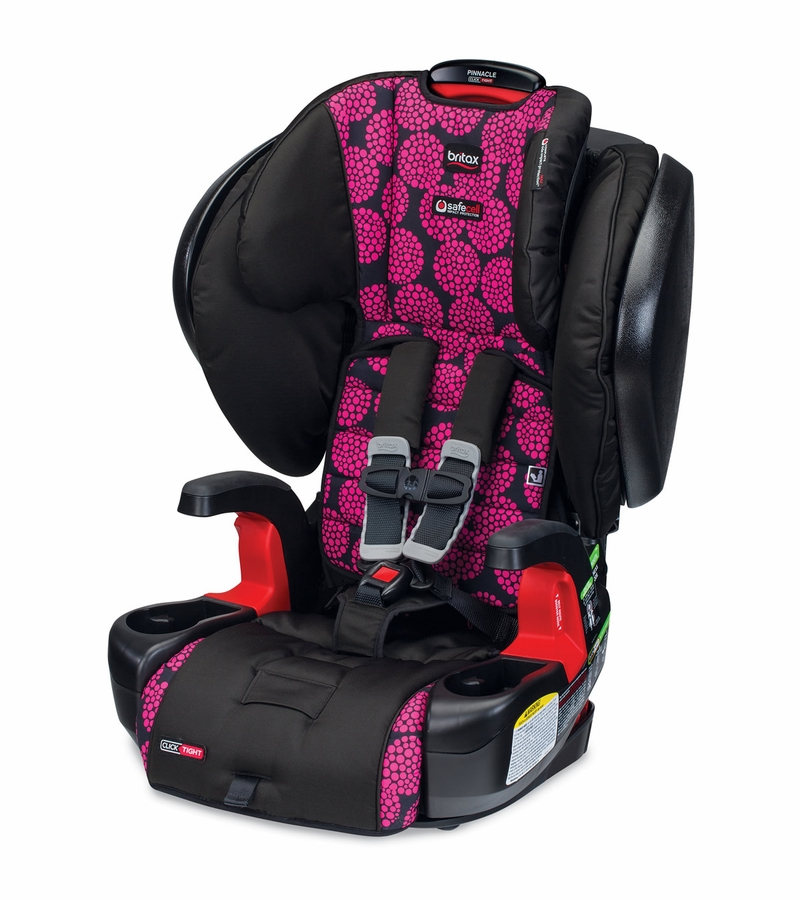 britax pinnacle clicktight booster car seat broadway. Black Bedroom Furniture Sets. Home Design Ideas