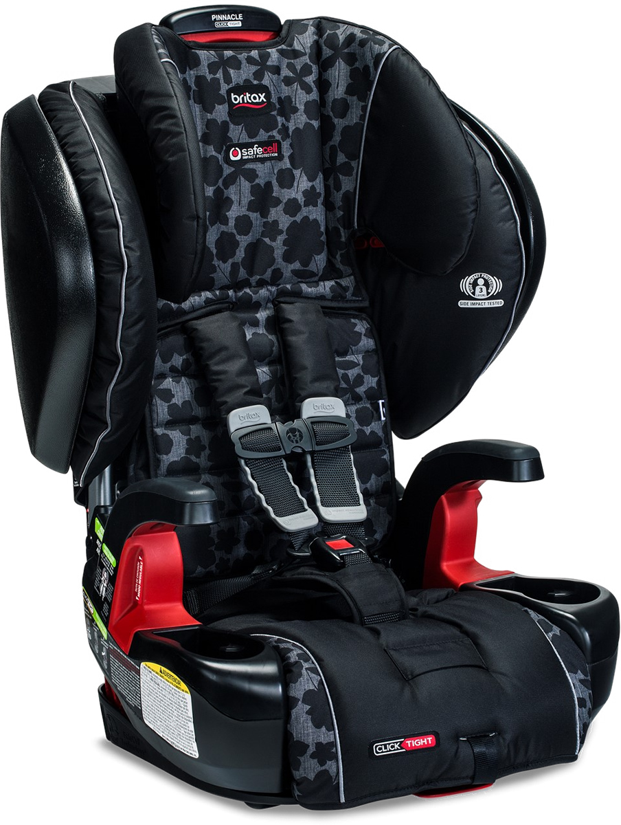 Britax Pinnacle ClickTight Harness Booster Car Seat - Kate