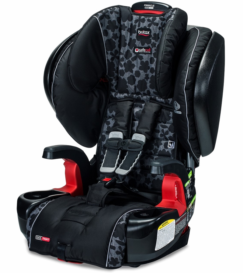 britax pinnacle clicktight harness booster car seat kate. Black Bedroom Furniture Sets. Home Design Ideas