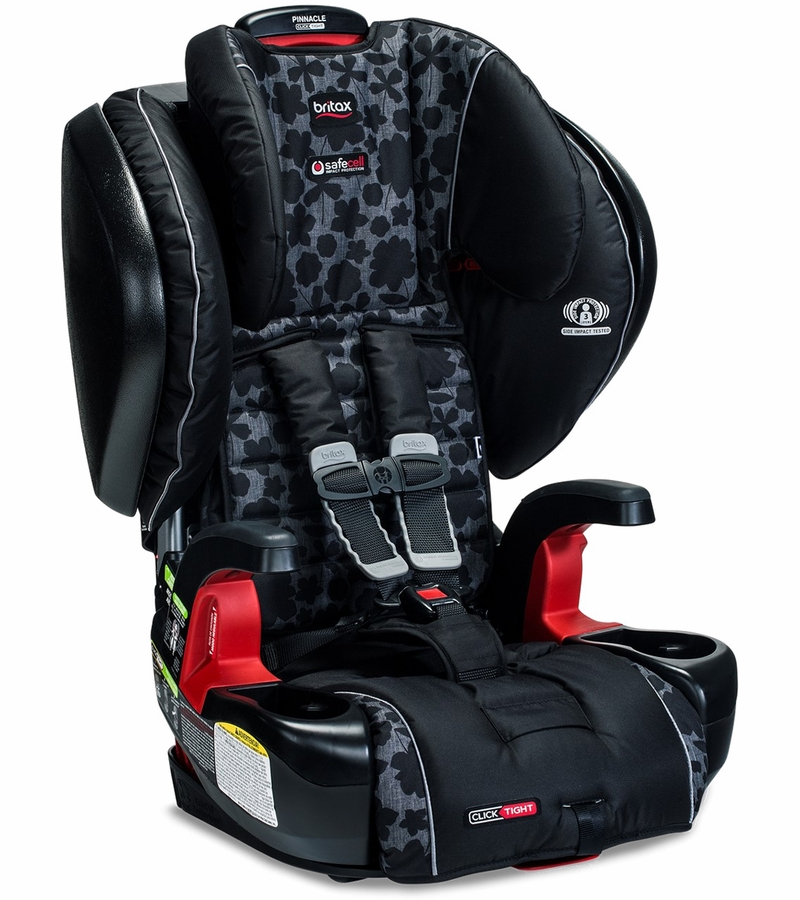 britax pinnacle clicktight booster car seat kate. Black Bedroom Furniture Sets. Home Design Ideas