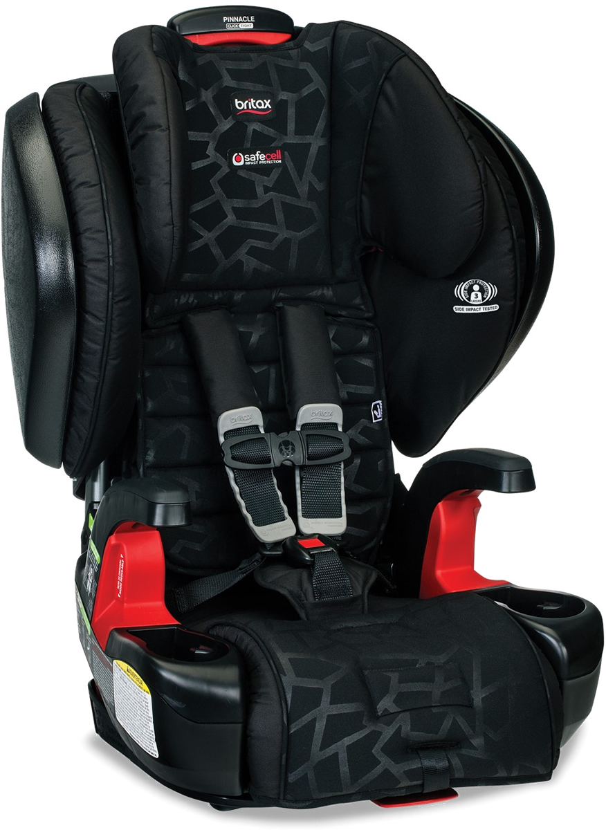 Britax Pinnacle ClickTight Harness Booster Car Seat - Mosaic