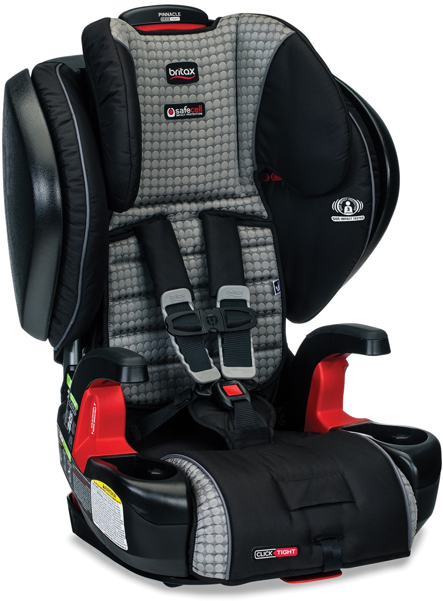 Britax Pinnacle ClickTight Harness Booster Car Seat - Venti