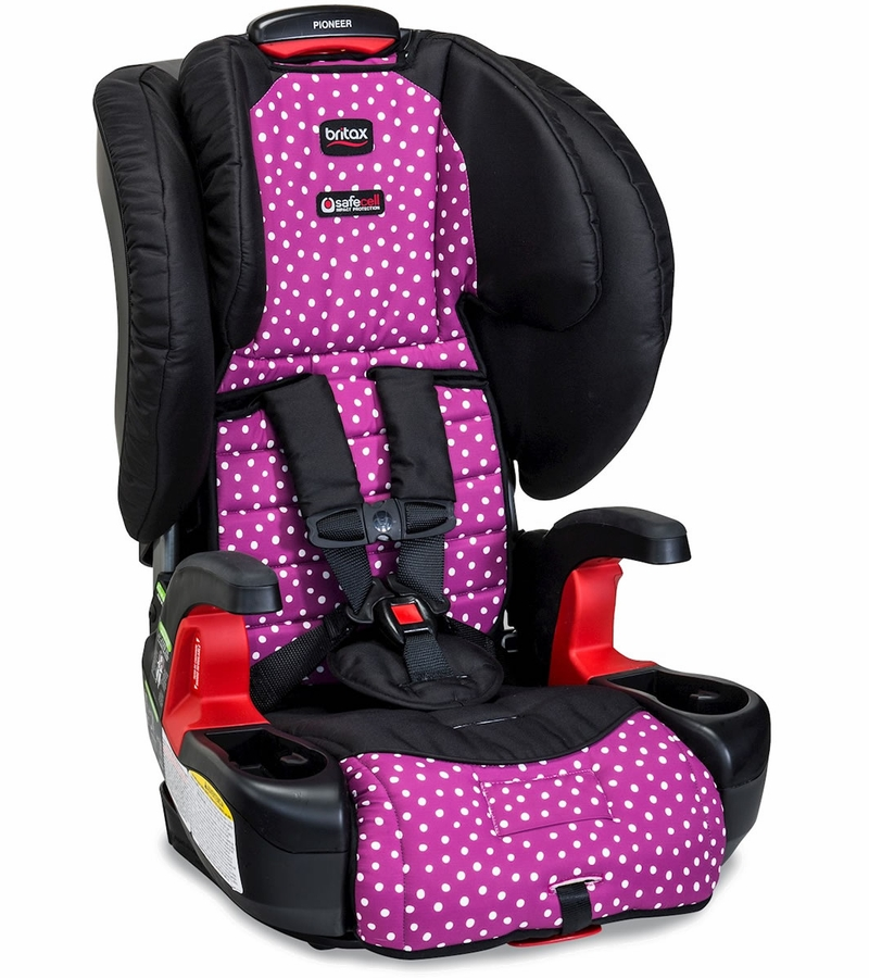britax pioneer g1 1 harness booster car seat confetti. Black Bedroom Furniture Sets. Home Design Ideas
