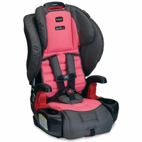 Britax Pioneer G1.1 Harness-2-Booster Car Seat - Coral