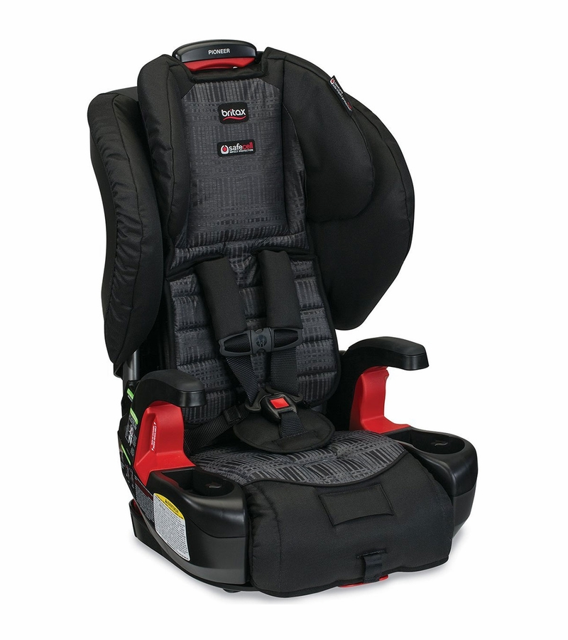 britax pioneer g1 1 harness booster car seat domino. Black Bedroom Furniture Sets. Home Design Ideas