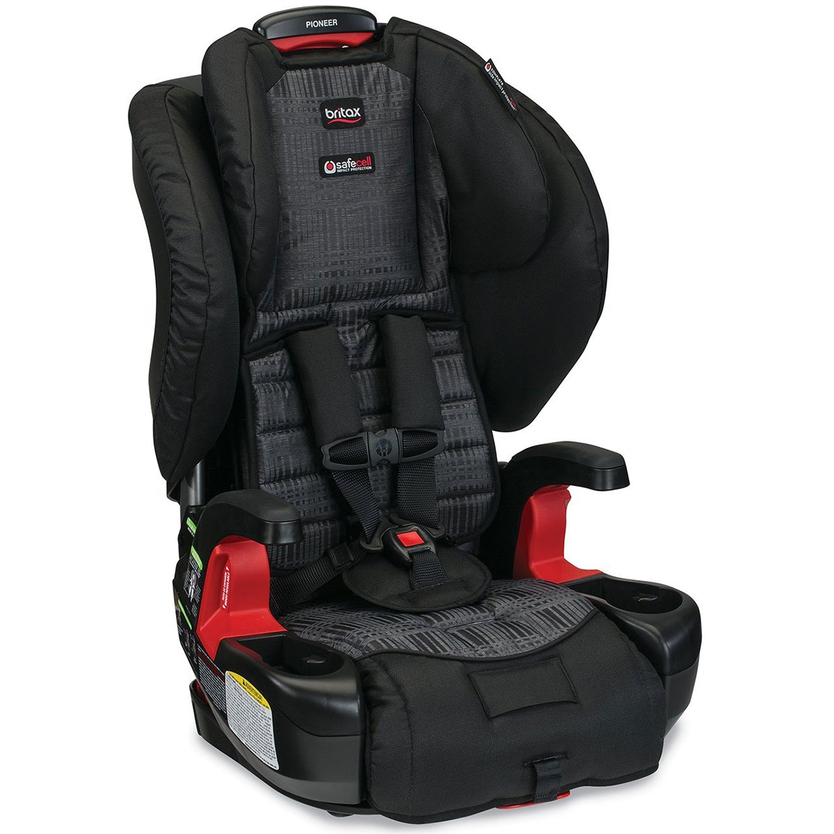 Britax Pioneer G1.1 Harness Booster Car Seat - Domino