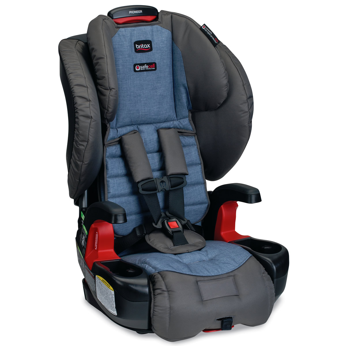 britax pioneer g1 1 harness 2 booster car seat pacifica. Black Bedroom Furniture Sets. Home Design Ideas