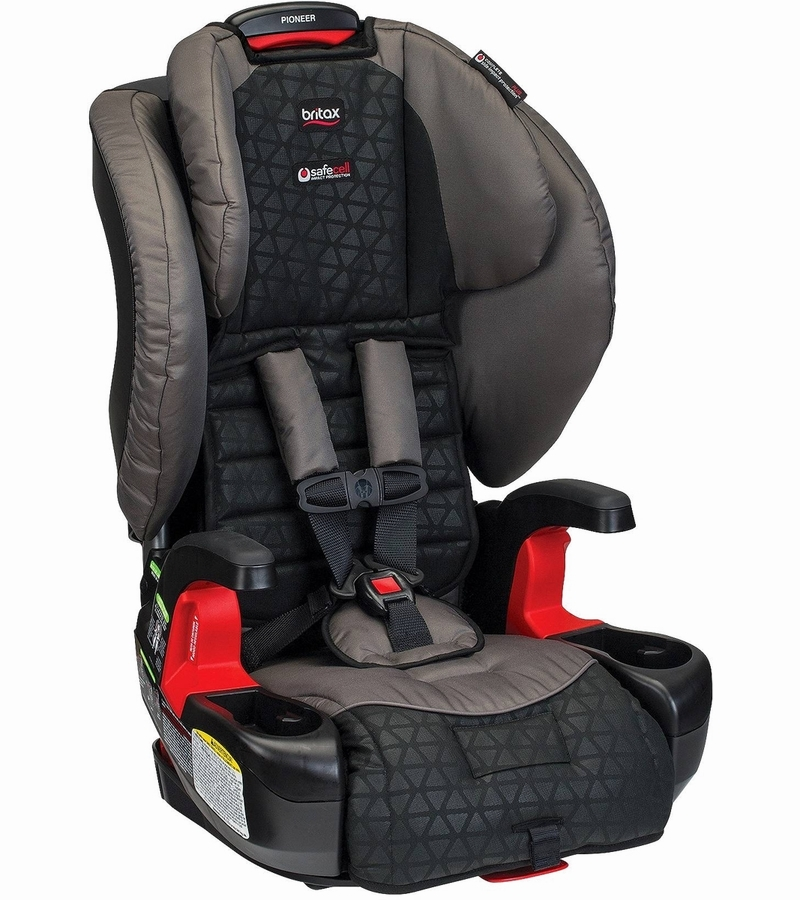 britax pioneer g1 1 harness 2 booster car seat reflect. Black Bedroom Furniture Sets. Home Design Ideas