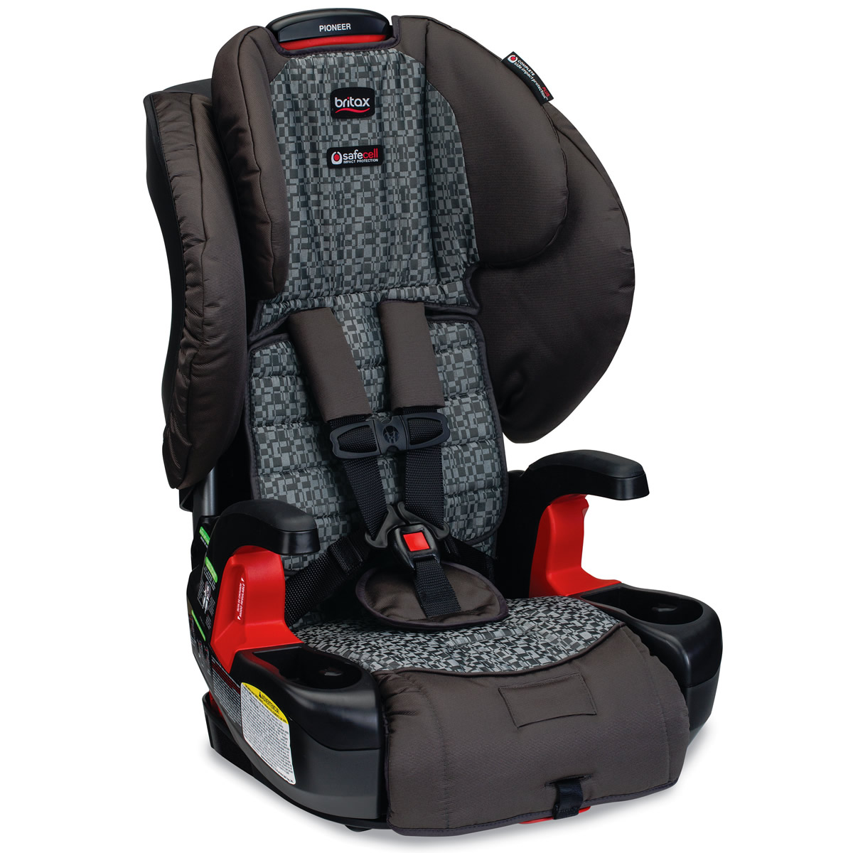 Britax Pioneer G1.1 Harness Booster Car Seat - Silver Cloud