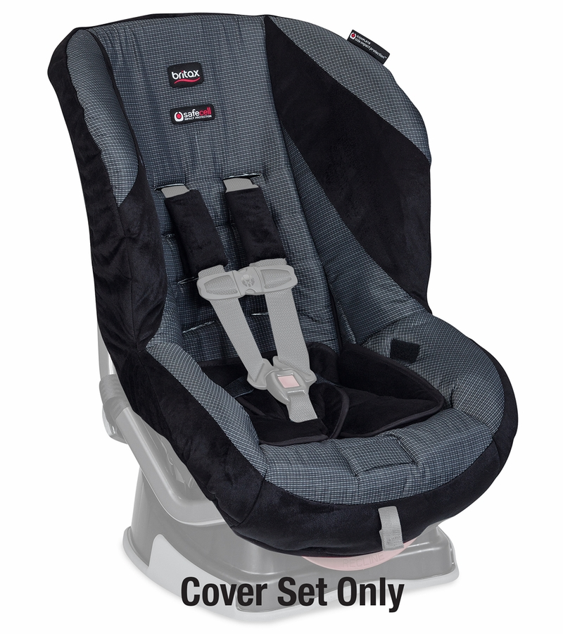 britax roundabout convertible car seat cover set onyx. Black Bedroom Furniture Sets. Home Design Ideas