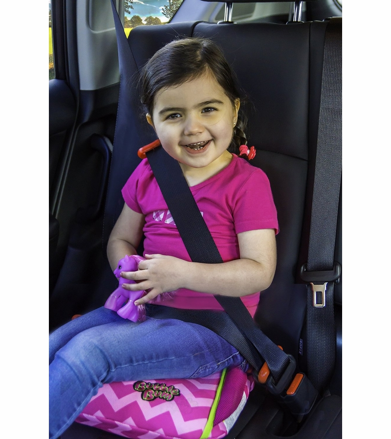 BubbleBum Inflatable Car Booster Seat - Pink
