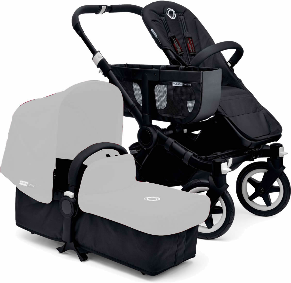 Bugaboo Donkey Stroller Base - All Black