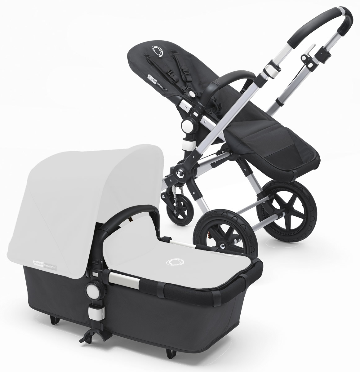 Bugaboo Cameleon 3 Base - Aluminum/Dark Grey