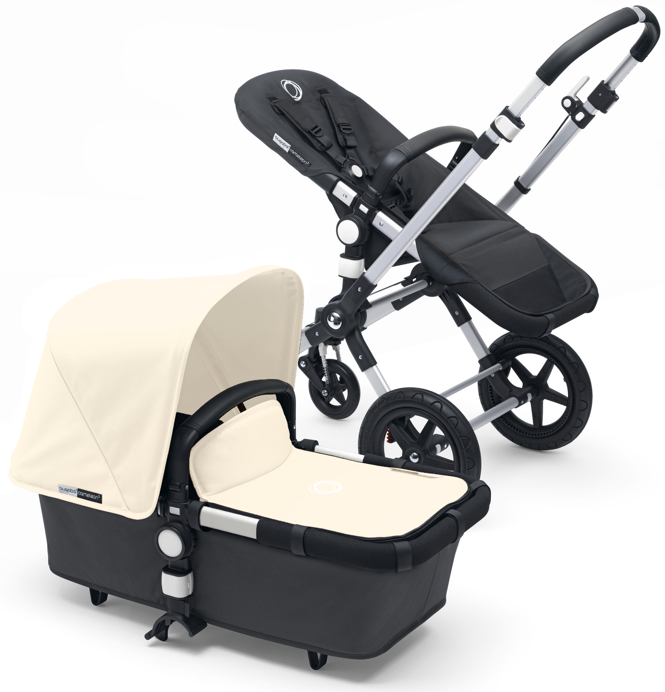 Bugaboo Cameleon 3 Stroller - Dark Grey/Off White