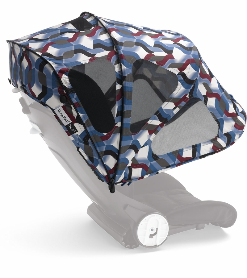 Item # 80620FB01  sc 1 st  Albee Baby & Bugaboo Bee5 Breezy Sun Canopy - Waves