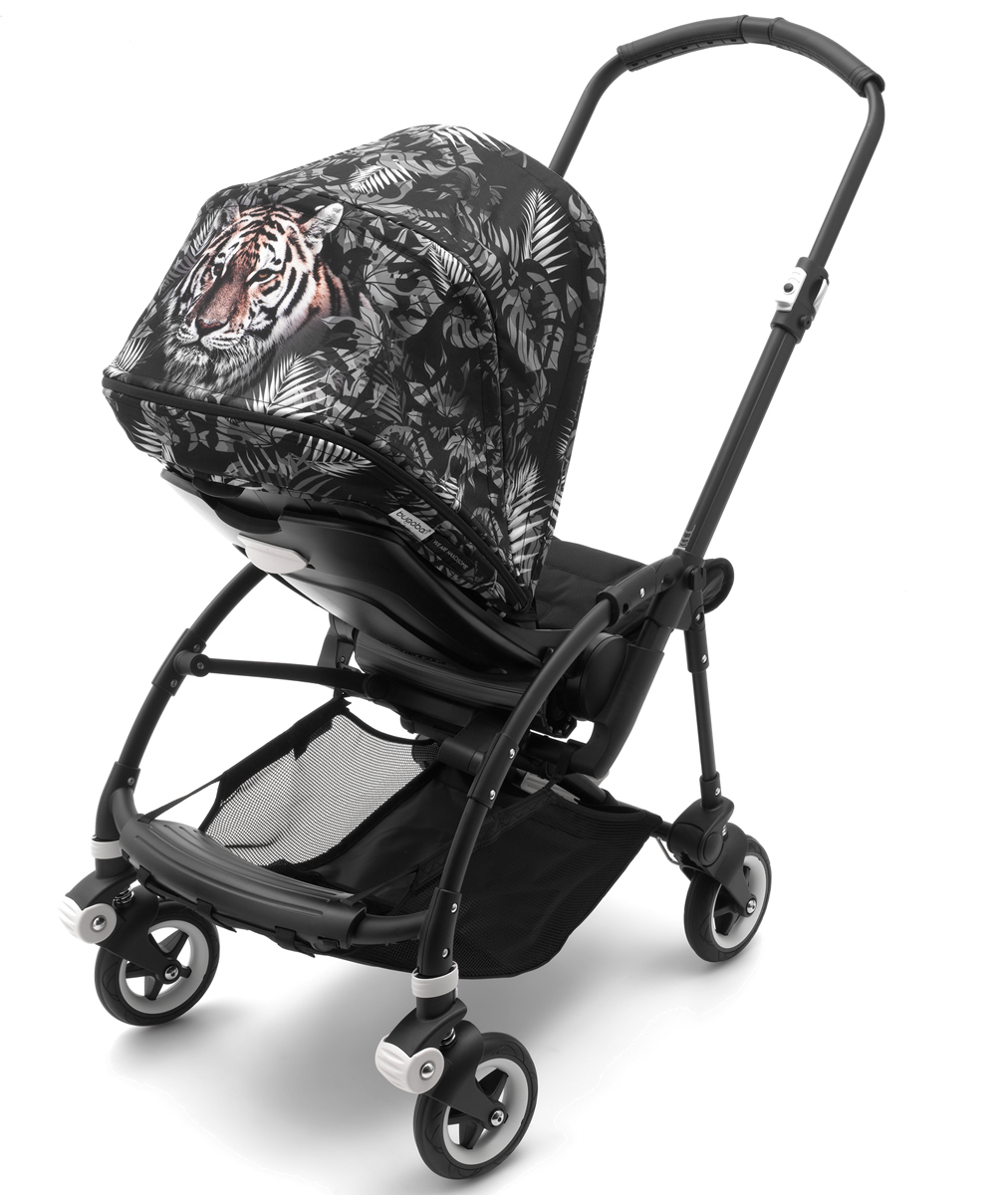 Bugaboo Bee5 Complete Stroller - Black/We Are Handsome