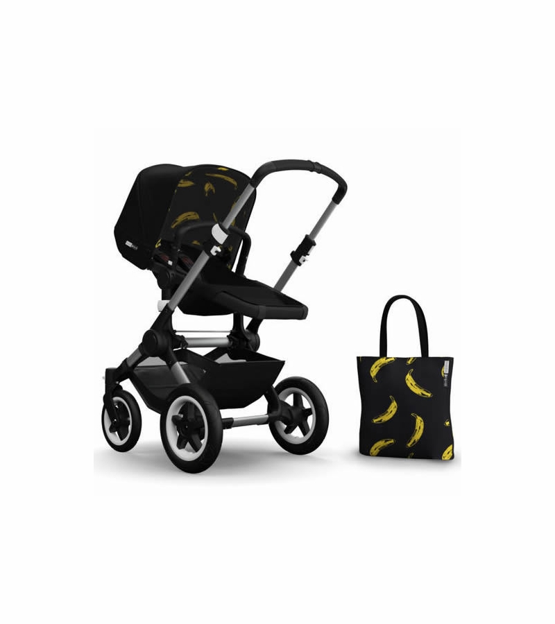 sc 1 st  Albee Baby & Bugaboo Buffalo Andy Warhol Accessory Pack - Black/Banana