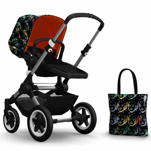Bugaboo Buffalo Accessory Pack - Andy Warhol Marilyn/Orange (Special Edition)