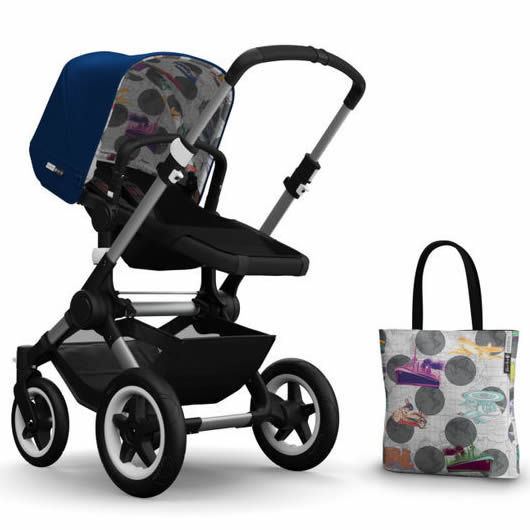 Bugaboo Buffalo Andy Warhol Accessory Pack - Royal Blue/Transport
