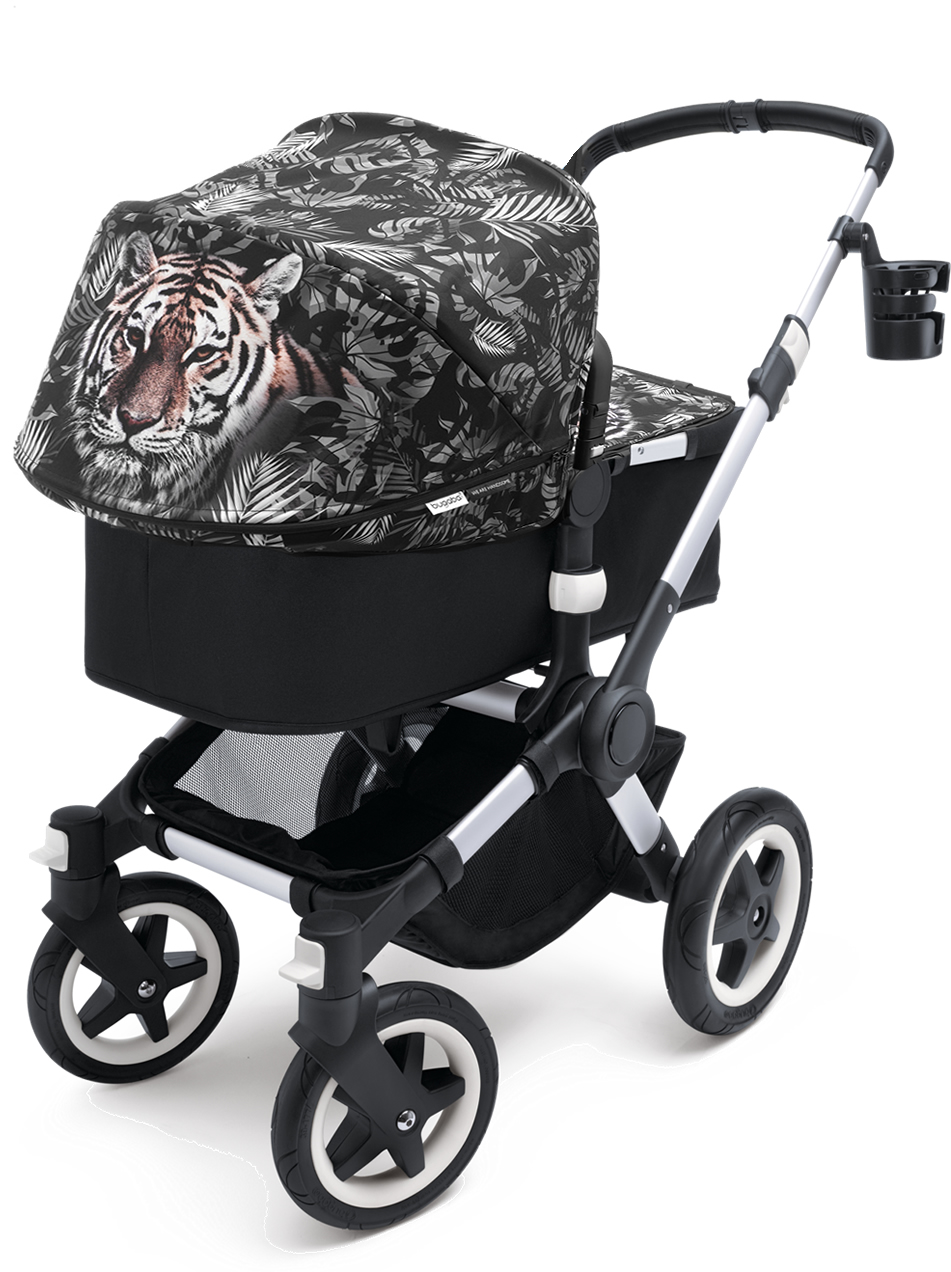 Bugaboo Buffalo Stroller - Aluminum/We Are Handsome