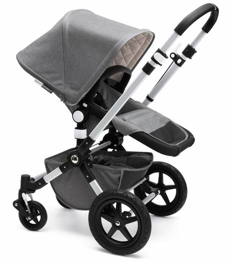 bugaboo cameleon 3 classic plus complete stroller grey melange. Black Bedroom Furniture Sets. Home Design Ideas