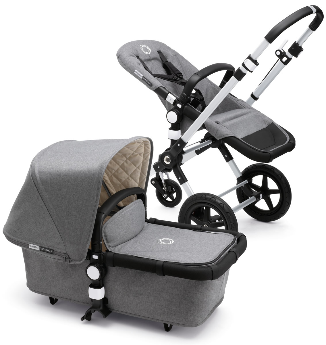 Bugaboo Cameleon 3 Classic Plus Complete Stroller - Grey ...